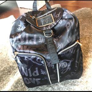 VS Retro Love pink backpack